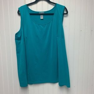 Catherines Blue Tank Top